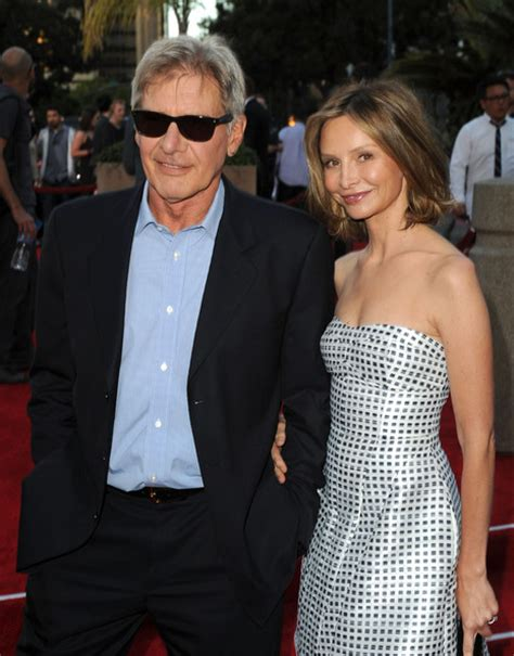 Harrison Ford And Calista Flockhart Are Engaged by Harrison Ford And Calista Flockhart Who Waited