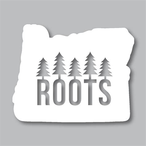 living art tattoo colorado springs oregon roots diecut sticker products oregon