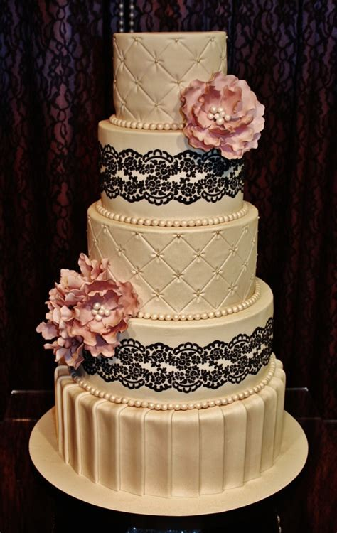 24 best CAKE DESIGN USING SUGAR LACE images on Pinterest