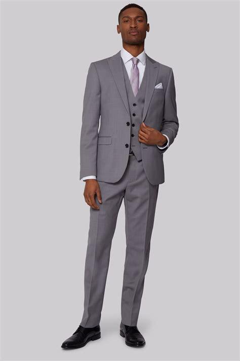 Sliming Suit 3 In 1 dkny mens slim fit neutral pindot 3 suit ebay