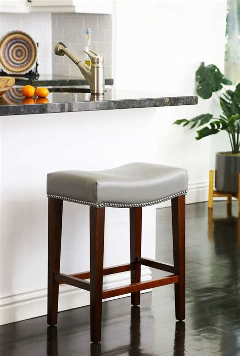 Genuine Leather Bar Stools by Genuine Leather Bar Stools Cabrea Design Styles Of