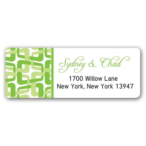 design label hers his and hers shower address labels paperstyle