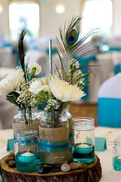 centerpiece ideas 25 best ideas about peacock wedding centerpieces on
