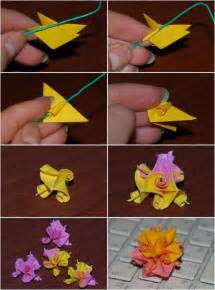 How To Make Papercraft Flowers -