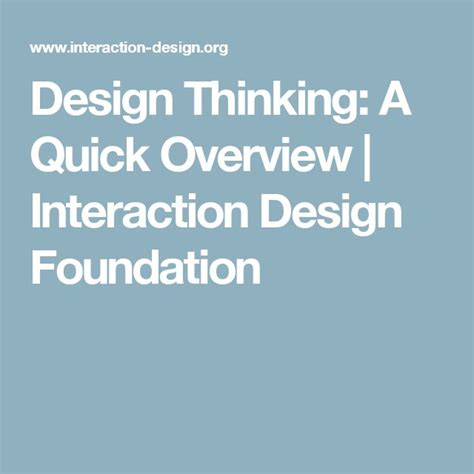 design thinking overview 117 best digital strategy design thinking images on