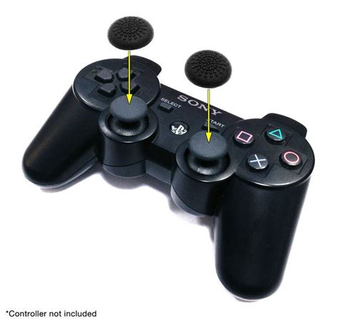 Sale Thumb Grips Xbox360 Ps3 Ps2 Isi 4pc orb thumb grips pack of 4 for official ps4 ps3 and xbox 360 controllers the gamesmen