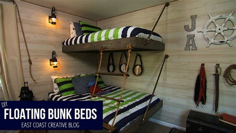 Floating Bunk Beds Floating Bunk Beds Tutorial Knock It Diy Project East Coast Creative