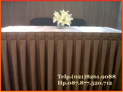 Taplak Meja Ultah Table Cover skirting meja jual table skirting tlp 021 82619088 89