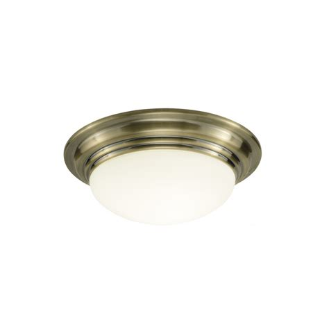 Small Ceiling Light Barclay Small Antique Brass Ip44 Bathroom Ceiling Light