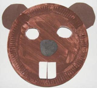 printable beaver mask mask crafts for kids