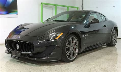 maserati gray 2013 maserati granturismo sport mc sport line vehicle direct