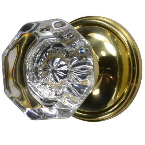 providence octagon door knob plate