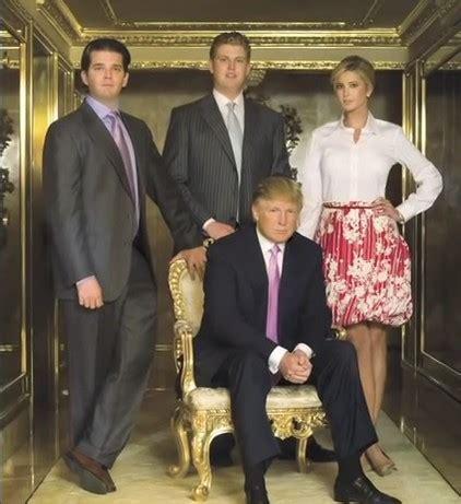 donald trump family photos donald trump net worth salary house jet businesses bio