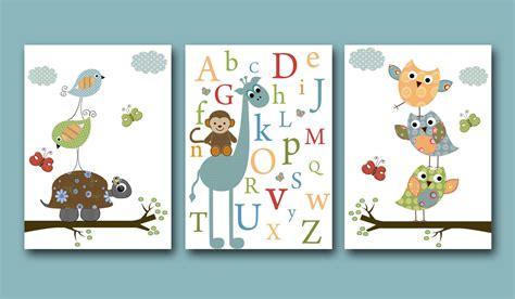 boy nursery art baby boy nursery art print baby boy room owls by artbynataera