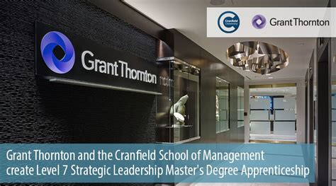 Cranfield Mba Requirements by Grant Thornton Supports Mba Programme Of Cranfield School