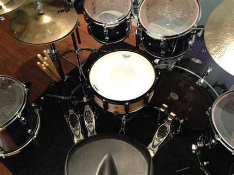 Pearl Drum Mat by Reference Photos With A New Drum Mat