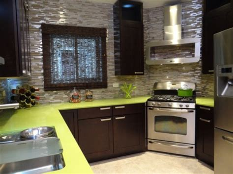 Kitchen Crasher by Gray Silver Backsplash Hgtv Kitchen Crashers Kitchen