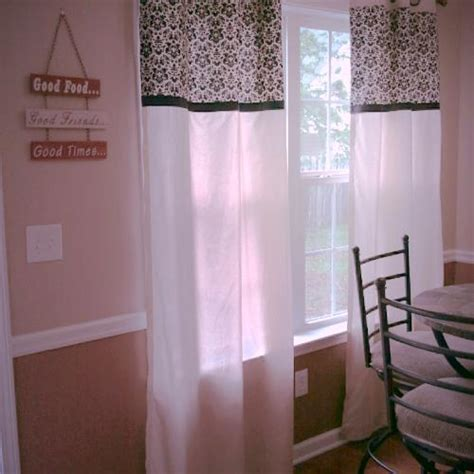 Sew Kitchen Curtains Diy No Sew Kitchen Curtains Hometalk