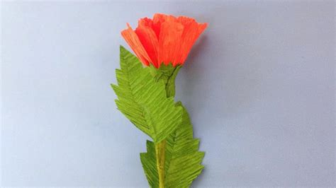 crepe paper flower tutorial youtube how to make carnation crepe paper flowers flower making