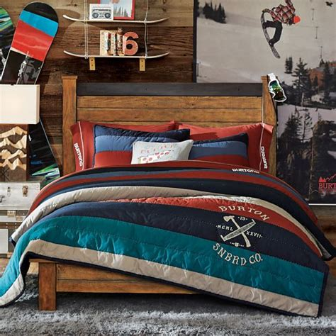 bedroom sets brton burton favorite tee sheet set pbteen