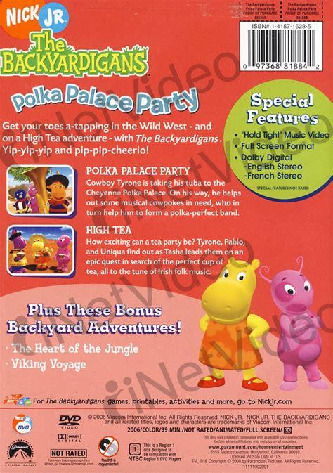 Backyardigans Dvd Backyardigans Polka Palace New Dvd Ebay