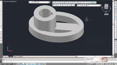 adan087 tutorials autocad 3d drawing 9