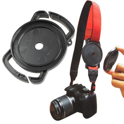Lens Cap Keeper Buckle Ukuran 52 58 Dan 67mm 2016 lens cap keeper 52mm 58mm 67mm universal anti losing buckle holder keeper in len