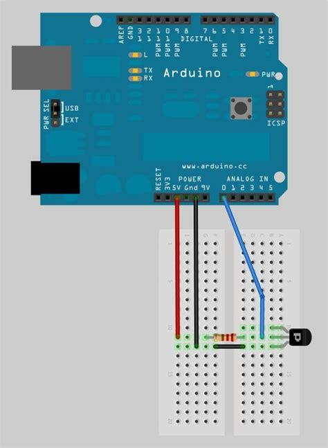 capteur de temperature analogique pobot
