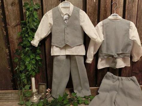 wedding attire toddler boy grey boys linen suit grey ring bearer boys suit