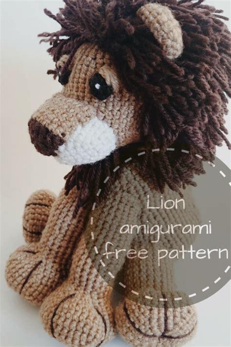 pattern crochet lion crochet lion amigurumi pattern free toys ravelry