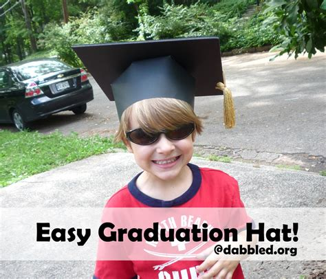 How To Make Paper Graduation Hats - easy paper crafts graduation cap simplekidscrafts