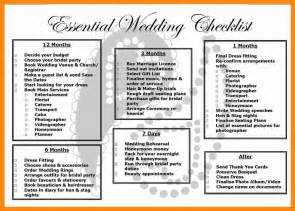 3 complete wedding checklist graphic resume