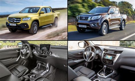 Home Interior Magazine by Side By Side Mercedes Benz X Class Vs Nissan Navara