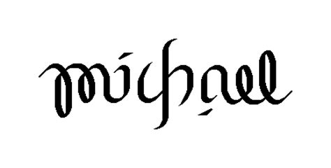 tattoo name generator upside down ambigrams michael s blog