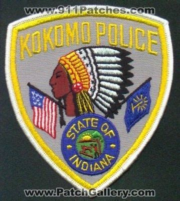 Kokomo Indiana Arrest Records Indiana Kokomo Patchgallery Patch Collection By 911patches Departments Ems Ambulance Rescue