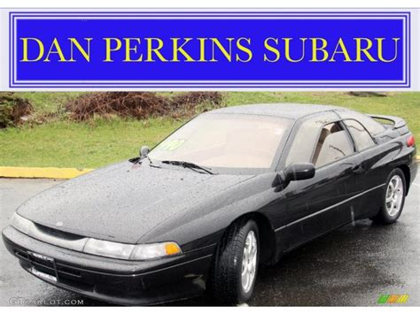 subaru coupe black 1996 ebony black pearl subaru svx lsi awd coupe 48025205