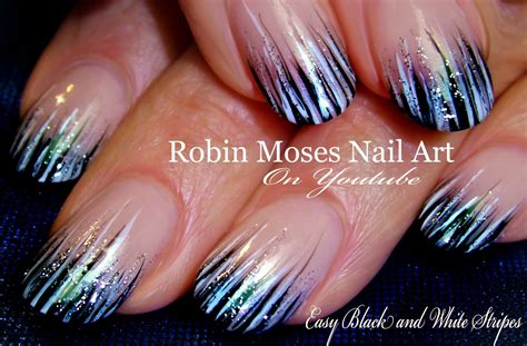 easy nail art stripes robin moses nail art striped spring nail art 2016 thats