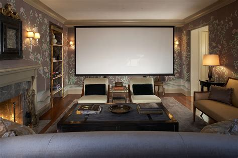 home rooms the living room theater modern house