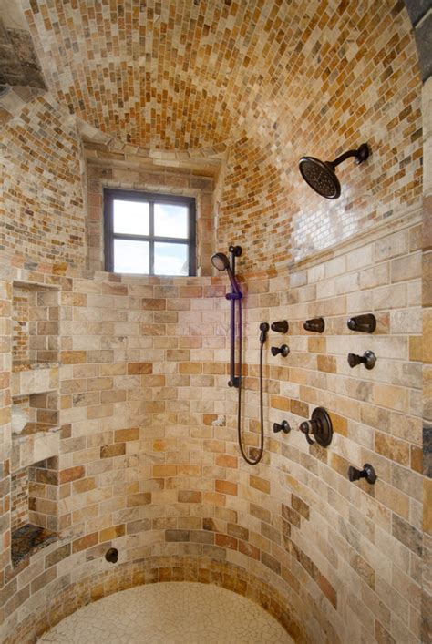 Greek Home Decor by Stone Shower Walls An Instant Trick To Transform A Flat