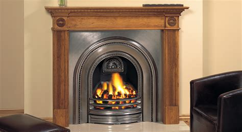 ornamental fireplace decorative arched insert fireplaces stovax traditional