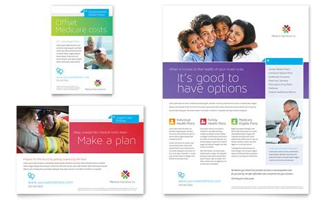 Medical Insurance Flyer Ad Template Word Publisher Microsoft Flyer Templates