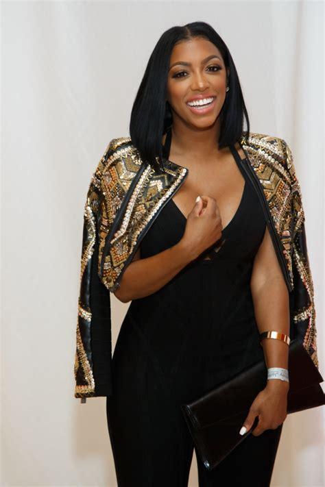 porsha williams jumpsuit wardrobe breakdown porsha d williams at jeffrey cares