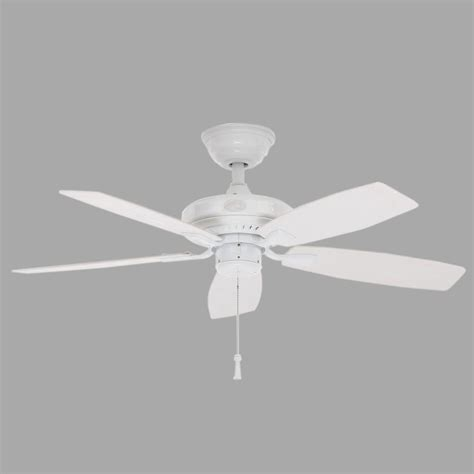 white ceiling fan hton bay gazebo ii 42 in indoor outdoor white ceiling