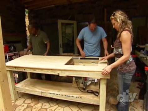 how to build a work table how to build a work table diy