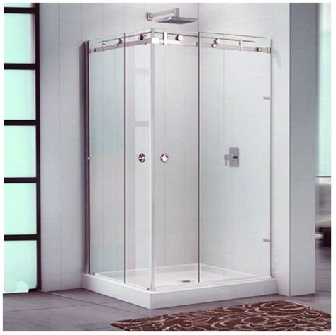 Stainless Steel Shower Doors China Stainless Steel 304 Sliding Shower Door Wheels Hf 001 China Shower Shower Cabin