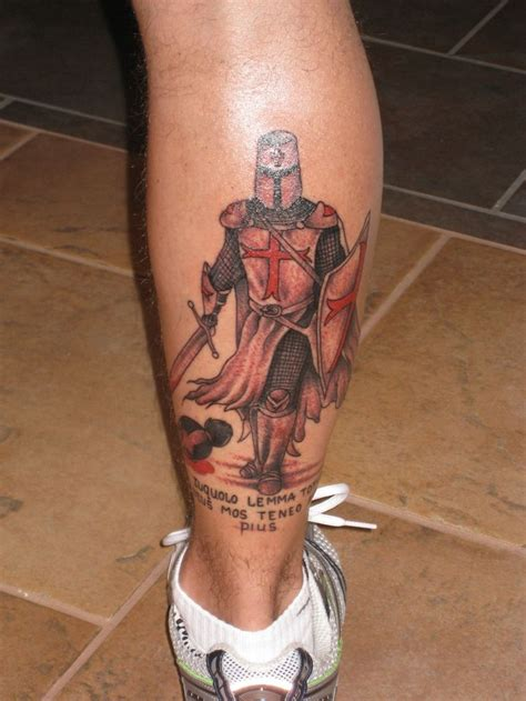 templar knight tattoo harley davidson amp tattoos