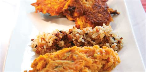 Universal Seafood 1kg sweet potato hash browns unimed living