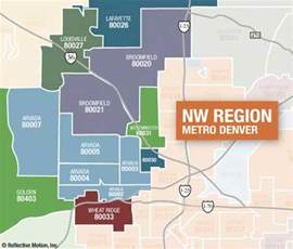 Denver Zip Codes Map by Zip Code Search Nw Metro Denver