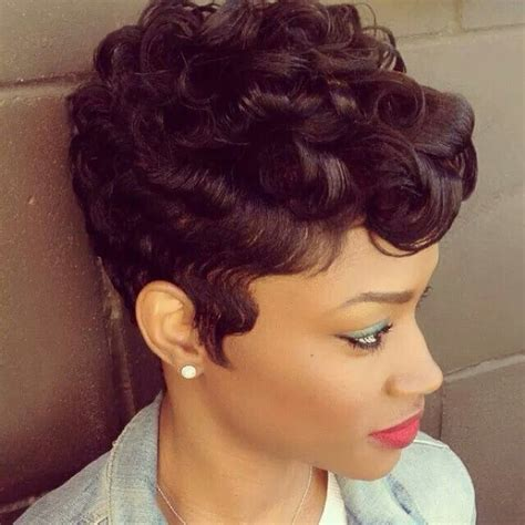 black women on pinterest with fingerwave and curl hairstyles like the river salon all things hair pinterest