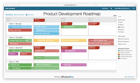free product roadmap template road map template 28 images free product roadmap